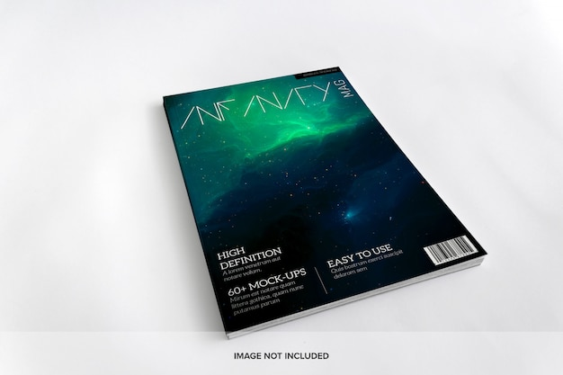 Mockup di riviste