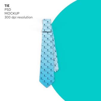 Mockup cravatta uomo