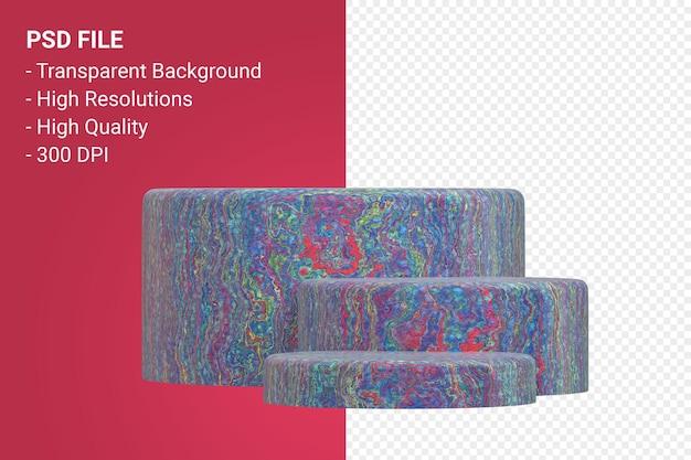Marble podium presentazione minimale del prodotto