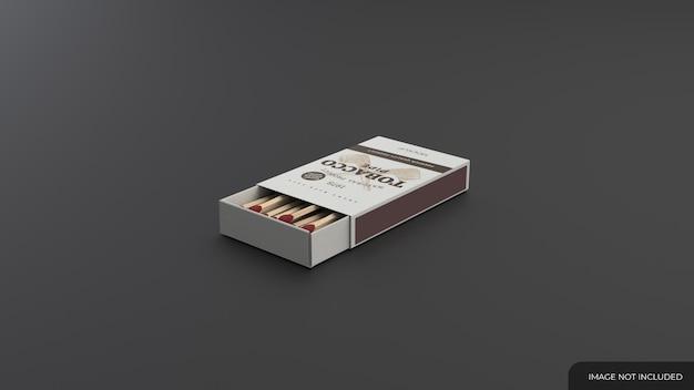 Mockup di scatole di fiammiferi