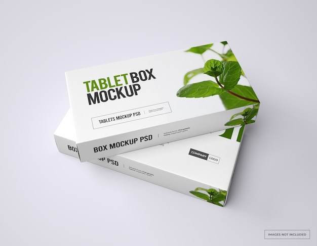 Branding di farmaci e mockup di packaging
