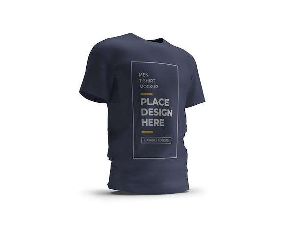 Uomini tshirt mockup design isolato