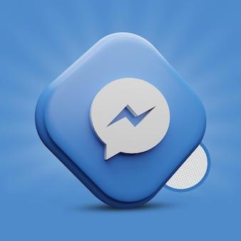Icona messenger 3d