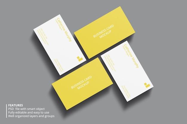 Design minimal mockup biglietto da visita