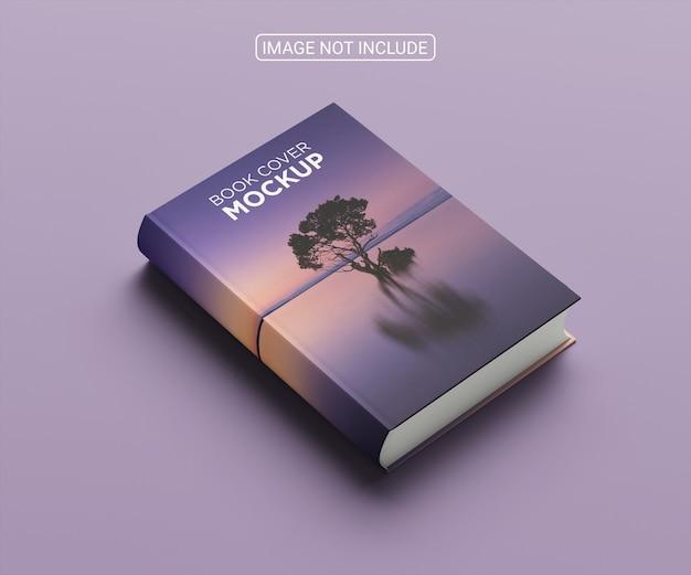 Disposizione minimalista di mock-up per la copertina del libro