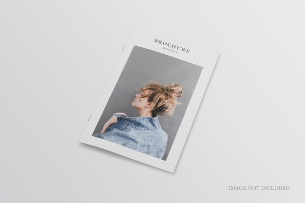 Brochure minimalista o mockup di volantini