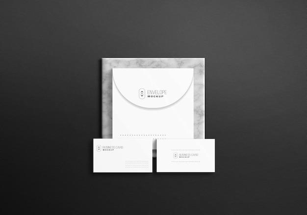 Set di cancelleria bianca minimalista psd mockup
