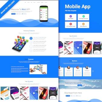 Modello di app mobile