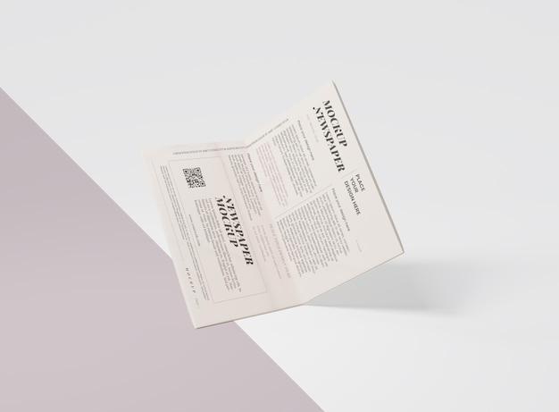 Mock-up per giornale