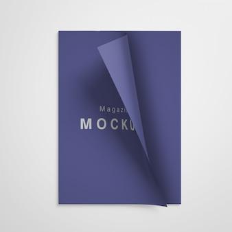 Mockup per la copertina di una rivista