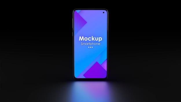 Mockup dello schermo del dispositivo elettronico isolato