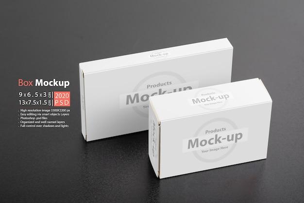 Mockup per pacchetti di scatole di pillole
