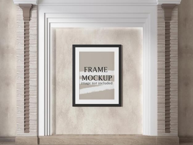 Cornice per poster mockup per le tue idee di design