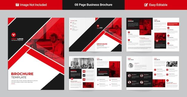 Modello di profilo aziendale moderno per presentazione aziendale