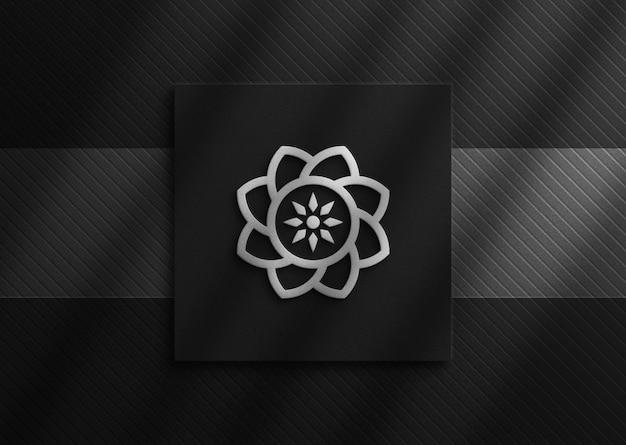 Mockup di logo moderno e lussuoso