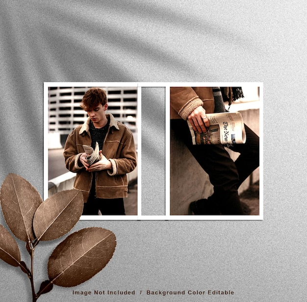 Mockup di cornici per foto moderne