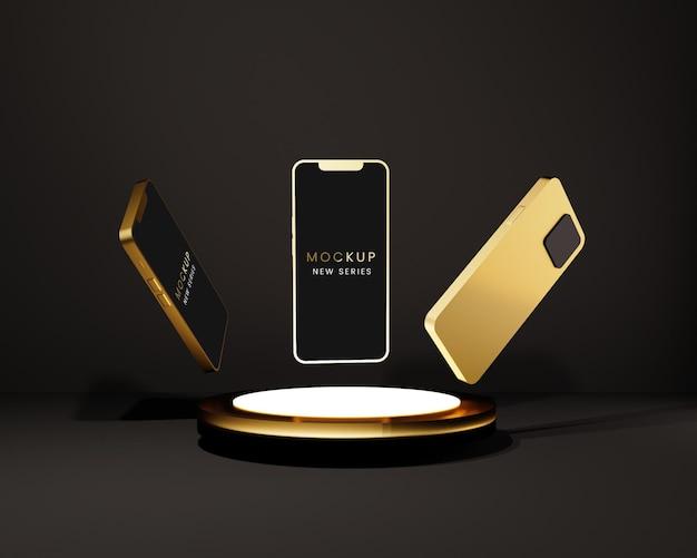 Mockup di smartphone moderno