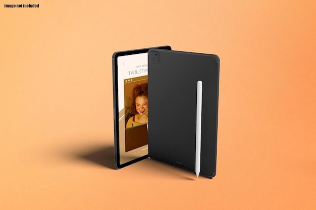 Mockup di schermo tablet moderno