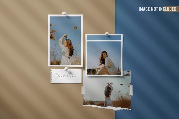 Moodboard foto mockup design