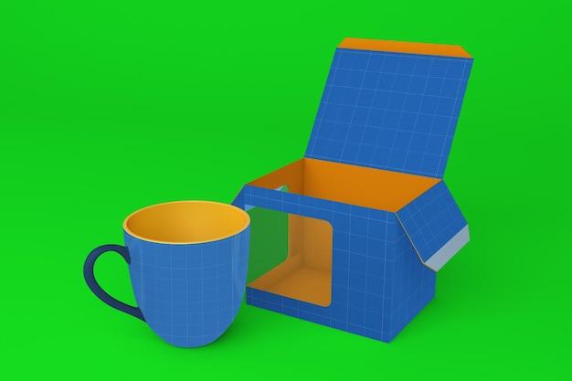 Mug box v1 mockup