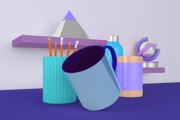 Mug desktop mockup