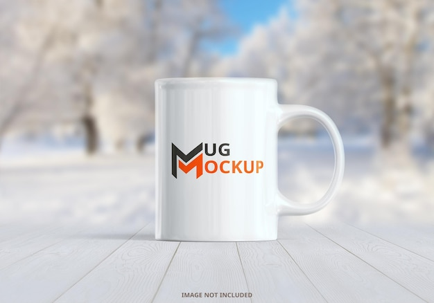 Mug mockup design rendering