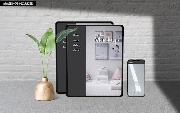 Mockup reattivo multi dispositivo