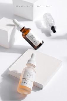 Prodotti cosmetici di bellezza naturale per la cura della pelle