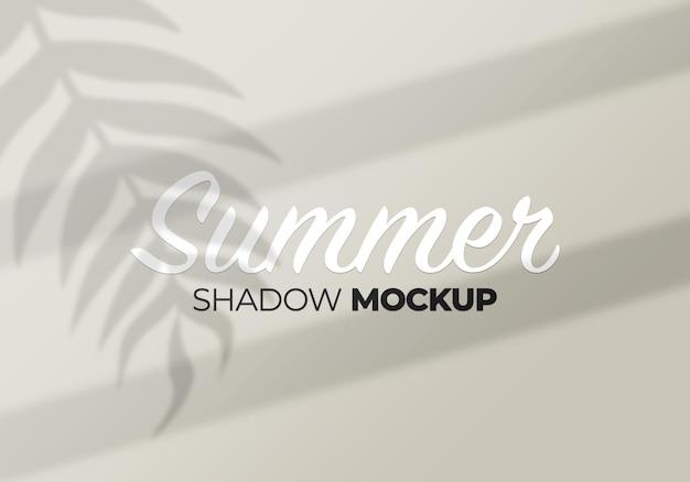 Modello dell'ombra del fondo di estate delle foglie di palma della natura