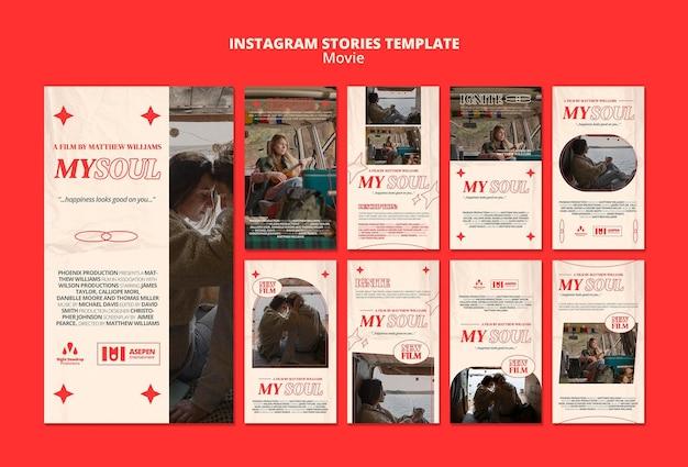 Nuove storie di film su instagram