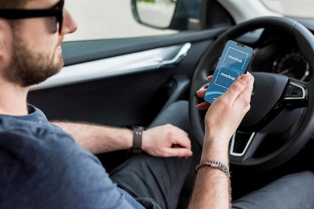 Nuovo modello di concetto di smartphone