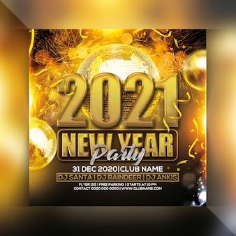 Volantino per il nuovo anno 2021