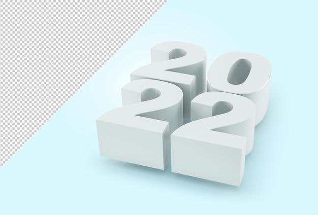 Modello del nuovo anno 2022