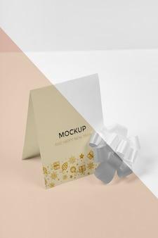 Mock-up di concetto di nuovo anno