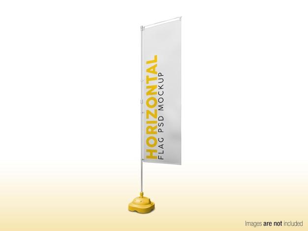 Portabandiera nobori modello 3d