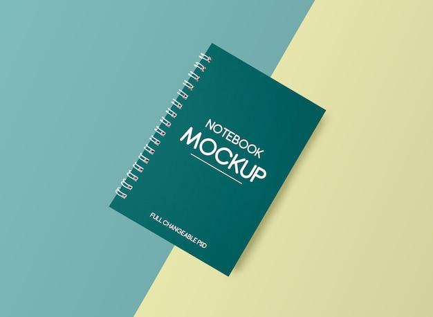 Notebook mockup design isolato
