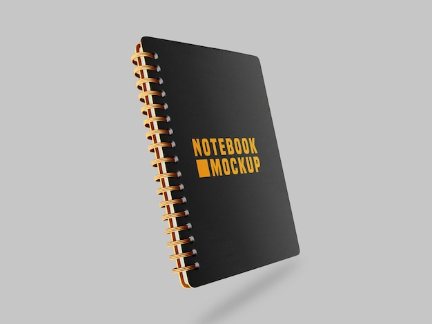 Mockup di notebook