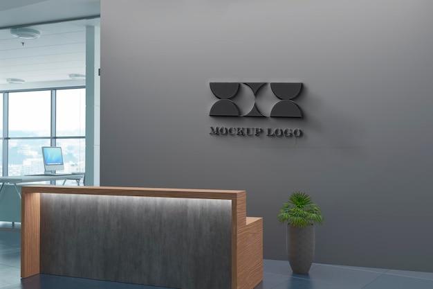 Mockup del marchio dell'ufficio