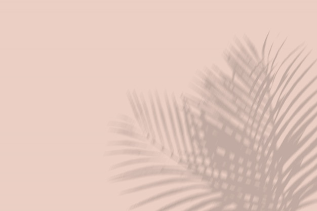 Mockup di ombre sovrapposte - botanico