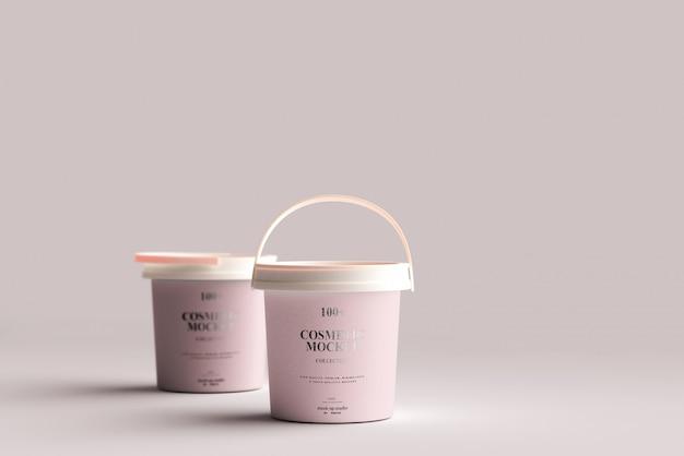 Paint bucket mockup