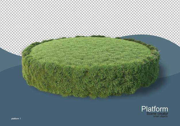 Visualizzazione pallet in rendering 3d isolato
