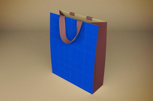 Rendering 3d di sacco di carta