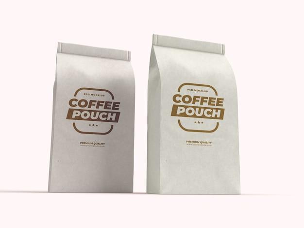 Confezione di sacchetti di carta per caffè in grani, frutta secca e altri alimenti