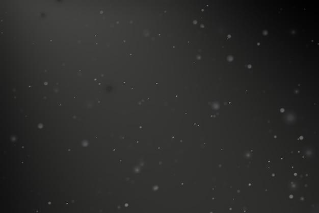 Sfondo di polvere di particelle con luce scura