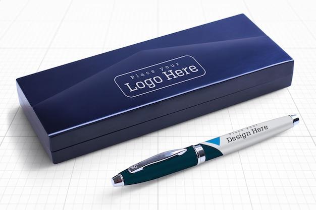 Mockup di pen box