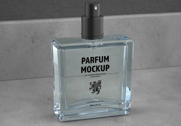 Bottiglia di profumo mockup