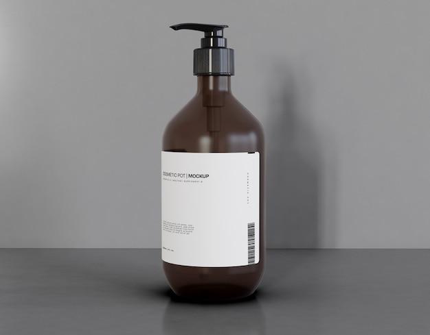Mockup di imballaggio del profumo