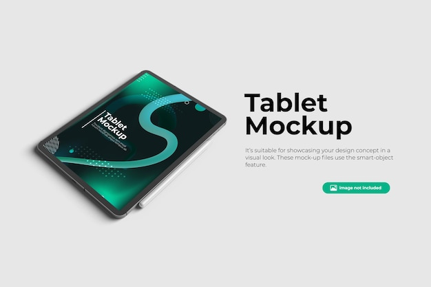 Prospettiva tablet mockup design