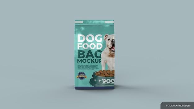 Mockup di sacchetti di cibo per animali domestici