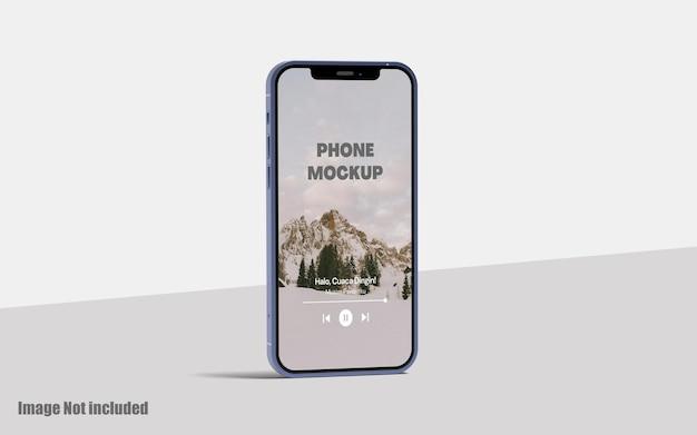 Schermo del telefono mockup premium psd